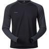 Bergans Slingsby Long Sleeve Men Black/Solid Charcoal